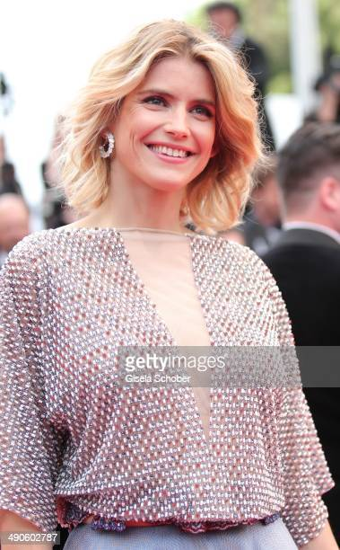 Alice Taglioni attends the Opening ceremony and the 'Grace of Monaco' Premiere during the 67th Annual Cannes Film Festival on May 14 2014 in Cannes...