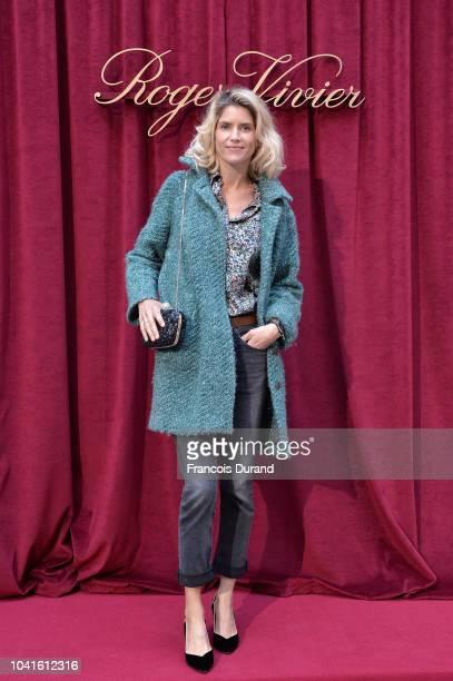Alice Taglioni attends the Roger Vivier Presentation Spring/Summer 2019 during Paris Fashion Week on September 27 2018 in Paris France