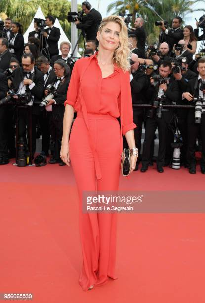 """Alice Taglioni attends the screening of """"Everybody Knows """" and the opening gala during the 71st annual Cannes Film Festival at Palais des Festivals..."""