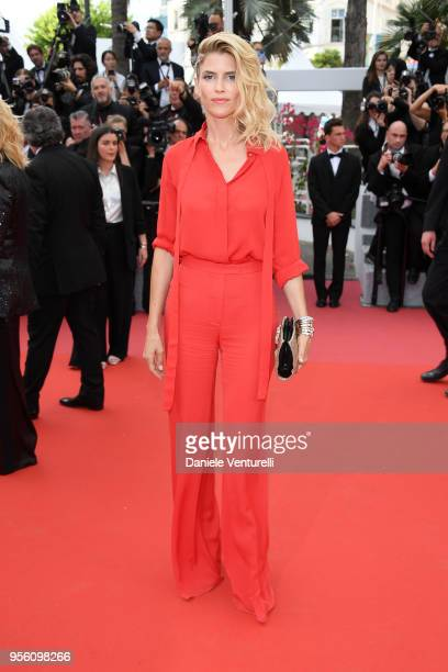 Alice Taglioni attends the screening of 'Everybody Knows ' and the opening gala during the 71st annual Cannes Film Festival at Palais des Festivals...
