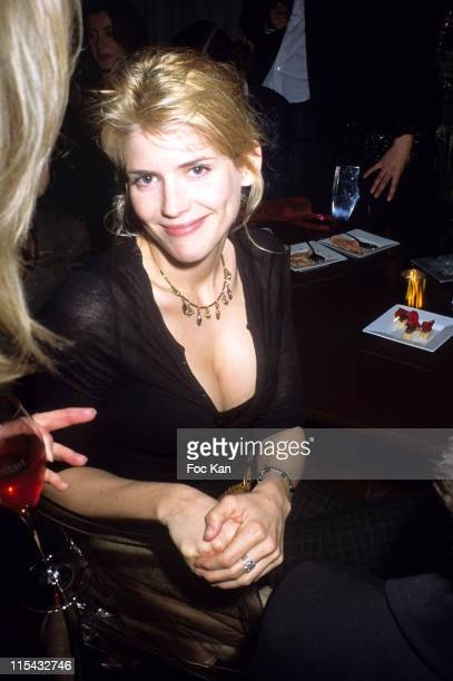Alice Taglioni during Champagne Ruinart Black and Red St Valentine Party February 1 2006 at Private Hotel Avenue Foch in Paris France