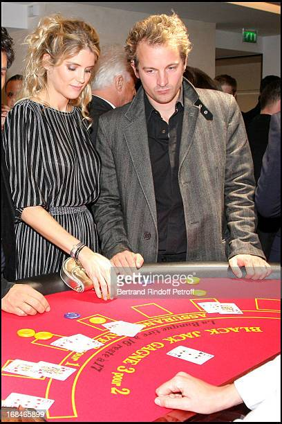 Alice Taglioni Jocelyn Quivrin at Inauguration Of The Boutique Cartier On Rue Du Faubourg Saint Honore In Paris