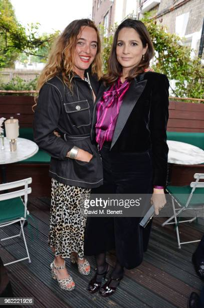 Alice Temperley and Astrid Munoz attend a private dinner hosted by Cartier to celebrate the opening of the British Polo Season at Casa Cruz on May 24...