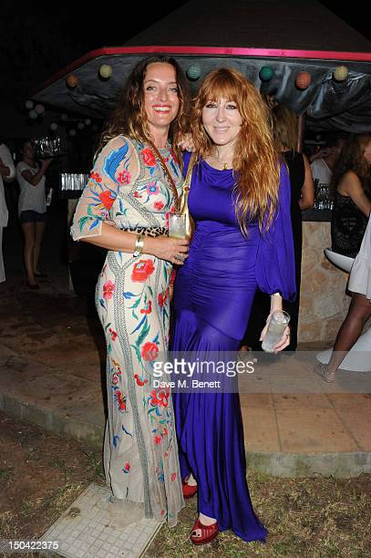 Alice Temperley and Charlotte Tilbury attend the Ibiza Summer Party In Aid Of Teenage Cancer Trust and Asociacion Espanola Contra El Cancer at...