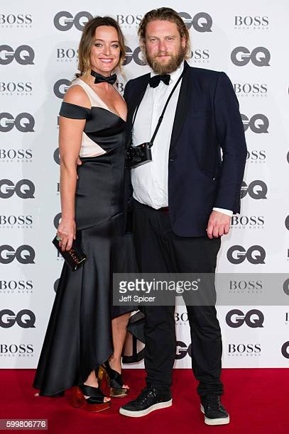 Alice Temperley and Greg Williams arrive for GQ Men Of The Year Awards 2016 at Tate Modern on September 6 2016 in London England