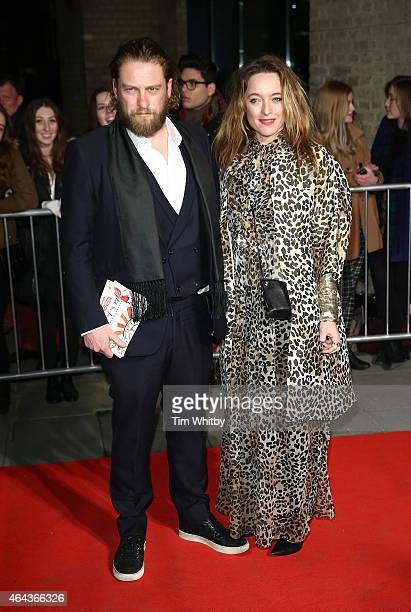 Alice Temperley and guest attend The World's First Fabulous Fund Fair in aid of The Naked Heart Foundation at The Roundhouse on February 24 2015 in...