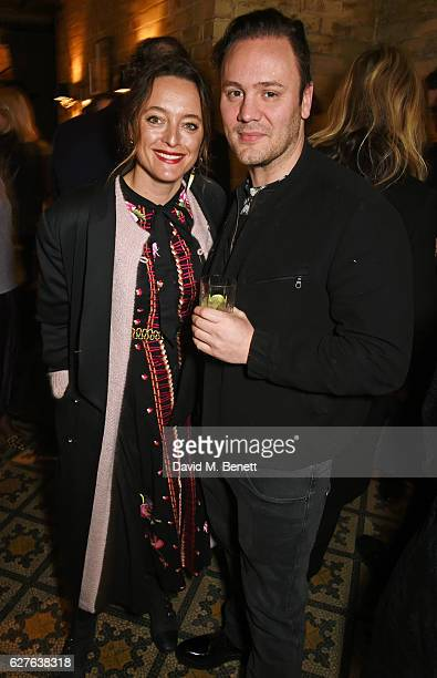 Alice Temperley and Nicholas Kirkwood attend The Fashion Awards in partnership with Swarovski nominees' lunch hosted by the British Fashion Council...
