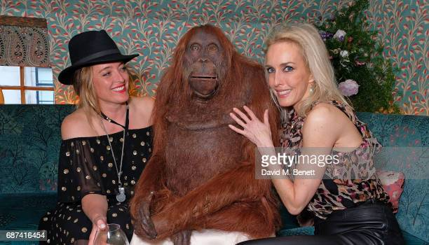 Alice Temperley and Sarah Woodhead attend the Leuser Ecosystem Action Fund hosted by Ben Goldsmith and Sarah Woodhead at 5 Hertford Street in...
