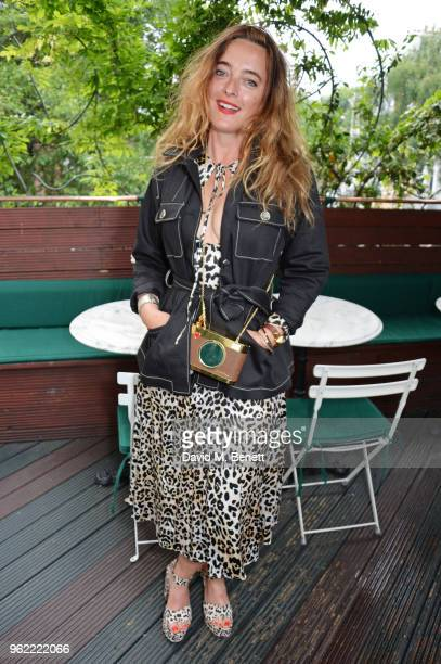 Alice Temperley attends a private dinner hosted by Cartier to celebrate the opening of the British Polo Season at Casa Cruz on May 24 2018 in London...