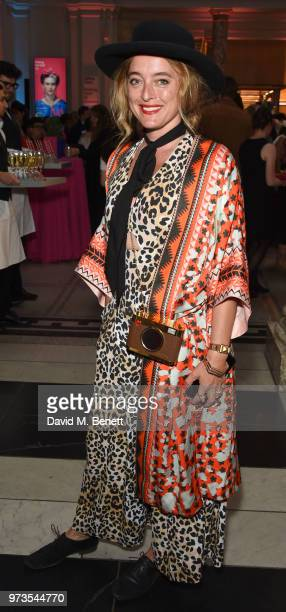 Alice Temperley attends a private view of 'Frida Kahlo Making Her Self Up' at The VA on June 13 2018 in London England