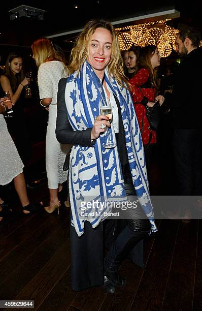 Alice Temperley attends as Osman Yousefzada and Poppy Delevingne celebrate the launch of the fourth issue of collaborative journal 'The Collective' a...