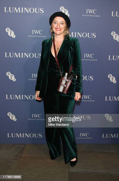 Alice Temperley attends the BFI Luminous Fundraising Gala at The Roundhouse on October 01 2019 in London England