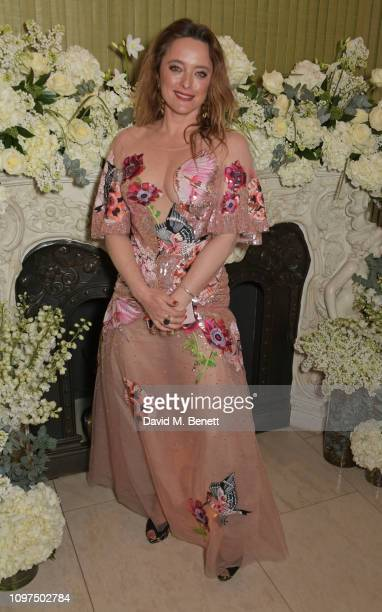Alice Temperley attends the British Vogue and Tiffany Co Celebrate Fashion and Film Party at Annabel's on February 10 2019 in London England