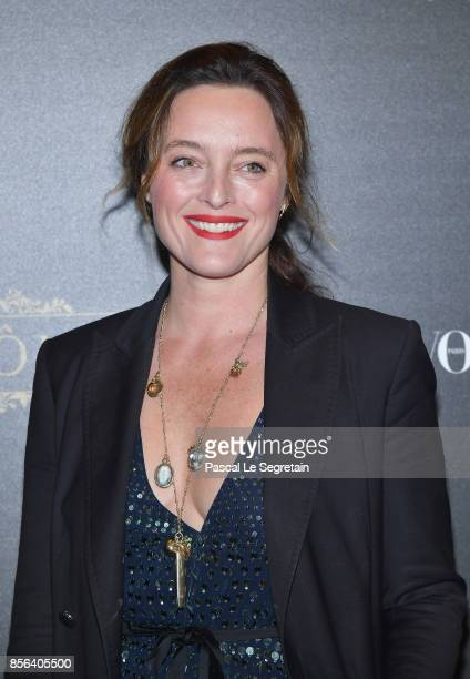 Alice Temperley attends the Irving Penn Exhibition Private Viewing Hosted by Vogue as part of the Paris Fashion Week Womenswear Spring/Summer 2018 on...