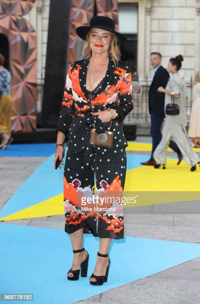 Alice Temperley attends the Royal Academy of Arts Summer Exhibition Preview Party at Burlington House on June 6 2018 in London England