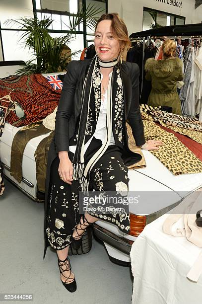 Alice Temperley attends the #SheInspiresMe Car Boot Sale presented by The Store and Brewer Street Car Park in aid of Women for Women International at...