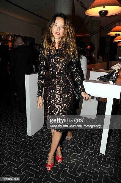 Alice Temperley attends the Stefano Tonchi Celebrates W Magazine's Modern Beauty Issue Honoring Tilda Swinton at the Perry Street Restaurant on April...