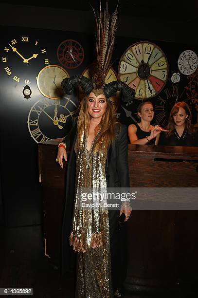 Alice Temperley attends the Unicef UK Halloween Ball raising vital funds to support Unicef's lifesaving work for Syrian children in danger at One...