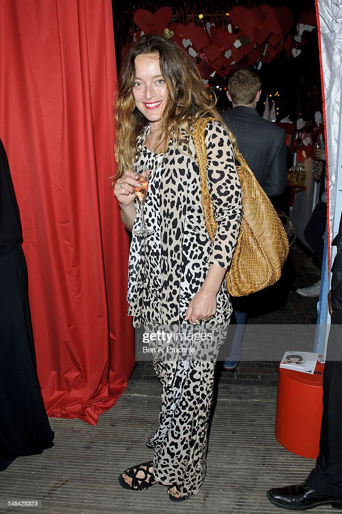 Alice Temperley attends Tunnel of Love in aid of The British Heart Foundation at Proud Camden on May 29, 2012 in London, England.