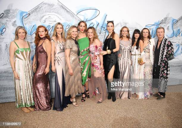 Alice Temperley Charlotte Dellal and Stephanie Phair attend The Summer Party 2019 Presented By Serpentine Galleries And Chanel at The Serpentine...