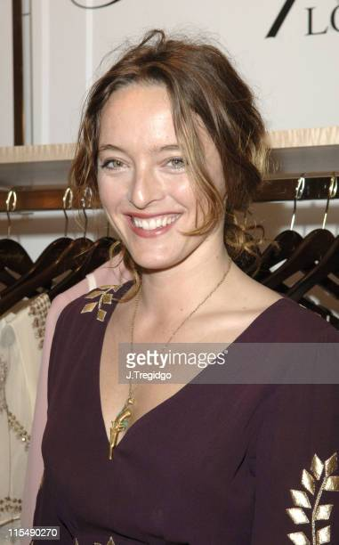 Alice Temperley during Alice Temperley Photocall at Harrods in London Great Britain