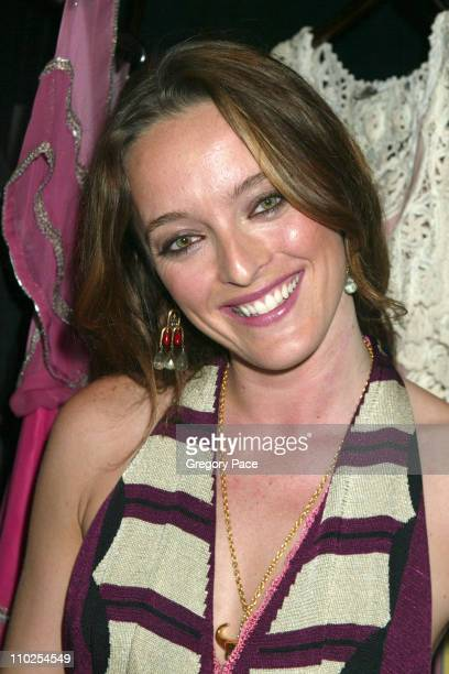 Alice Temperley during Olympus Fashion Week Spring 2006 Temperley London Front Row and Backstage at Bryant Park in New York City New York United...
