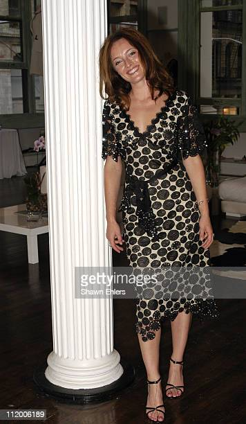 Alice Temperley during Temperley of London Launches Apparel Line in New York City at Temperley Showroom in New York City New York United States