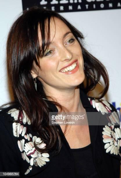 Alice Temperley during Vogue and eBay Host Holiday Party to Benefit FilmAid International at Diane von Furstenberg Studios in New York City New York...