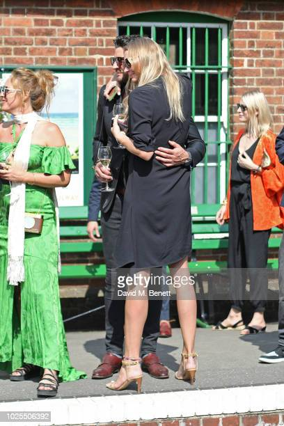 Alice Temperley Joseph Bates and Jodie Kidd attend KRUG Encounters Tracks on Tracks curated by Jools Holland on August 31 2018 in London United...