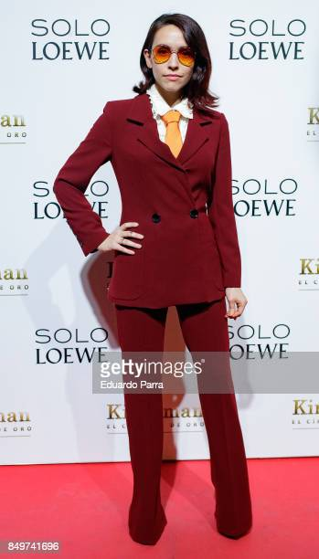 Alice Wadd attends the 'Kingsman El Circulo De Oro' premiere at Callao cinema on September 19 2017 in Madrid Spain