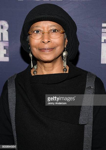 Alice Walker attends 'The Color Purple' Broadway opening night at the Bernard B Jacobs Theatre on December 10 2015 in New York City