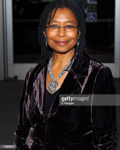 Alice Walker during The First Annual California Hall of Fame Ceremony and Awards Show at California Museum in Sacramento CA United States