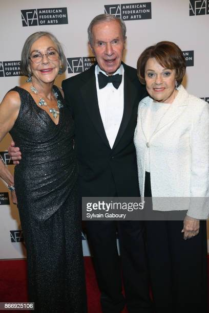 Alice Walton Charles Diker and Valerie Diker attend the American Federation of Arts 2017 Gala and Cultural Leadership Awards at The Metropolitan Club...