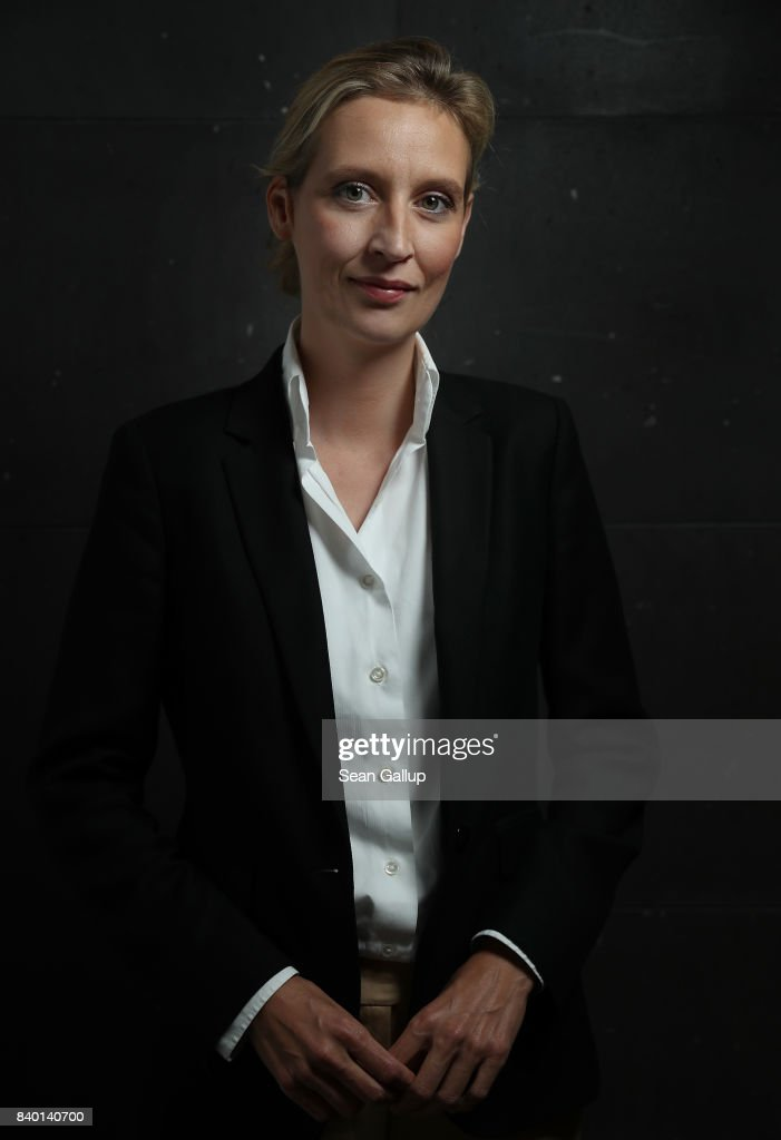 Alice Weidel, Co-Lead Candidate Of The AfD, Speaks To Foreign Journalists' Association