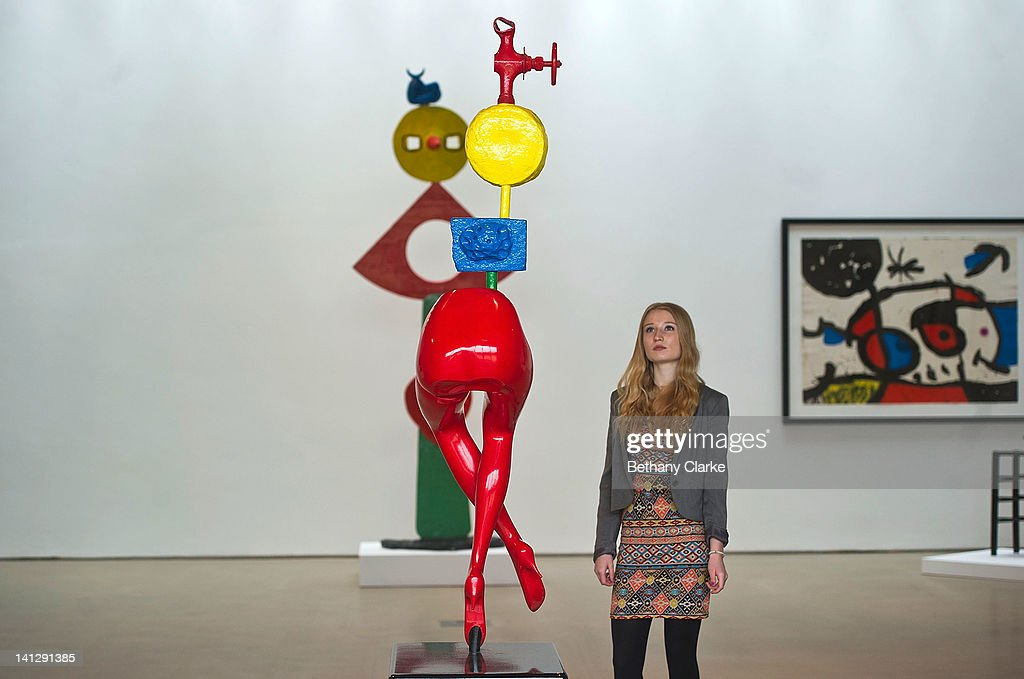 Sculpture Exhibition By Joan Miro Unveiled At The Yorkshire ...