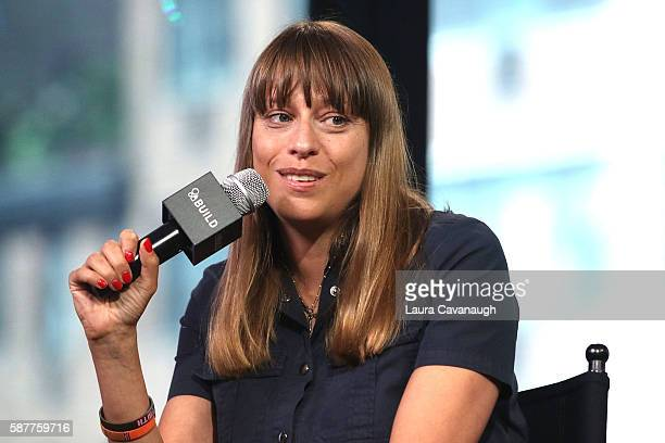 Alice Winocour attends AOL Build Presents to discuss 'Disorder' at AOL HQ on August 9 2016 in New York City