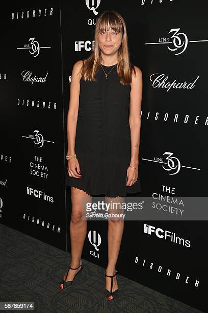 Alice Winocour attends The Cinema Society Chopard with Line 39 and Qui Host a Screening of IFC Films' 'Disorder' at Landmark Sunshine Cinema on...