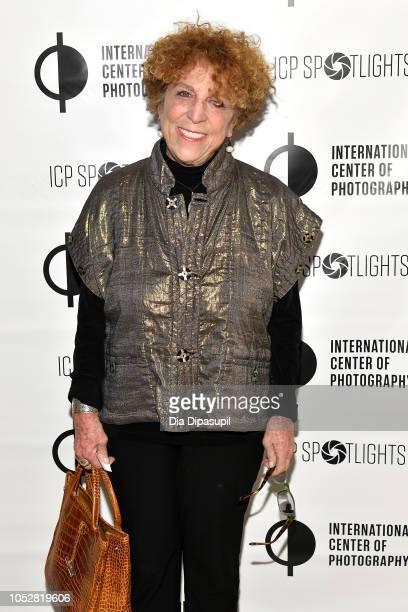 Alice Zimet attends the ICP Spotlights Luncheon Honoring Mickalene Thomas on October 23 2018 in New York City
