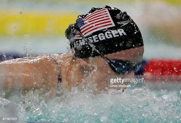Alicia Aemisegger of the USA competes in the Women's 200m individual medley final during day four of the FINA World Swimming Championships held at Qi...