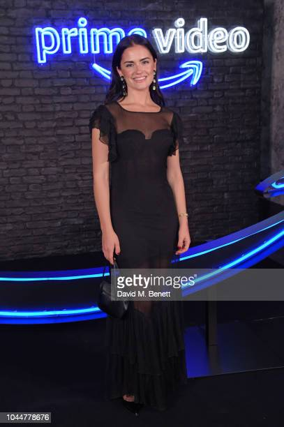 Alicia Agneson attends the Amazon Prime Video Europe Autumn Party at 100 Wardour Street on October 2 2018 in London England