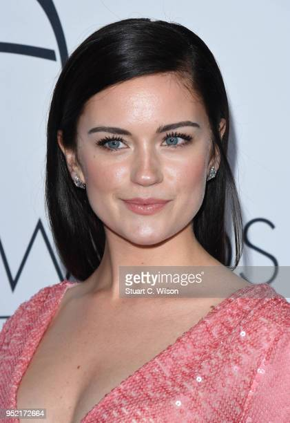 Alicia Agneson attends The Asian Awards 2018 held at London Hilton on April 27 2018 in London England