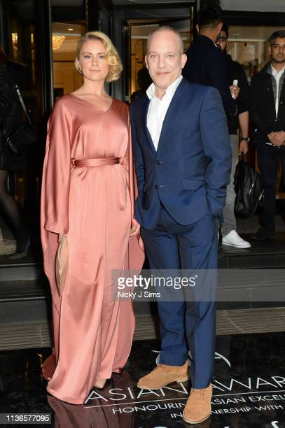 Alicia Agneson attends The Asian Awards 2019 at Grosvenor House on April 12 2019 in London United Kingdom