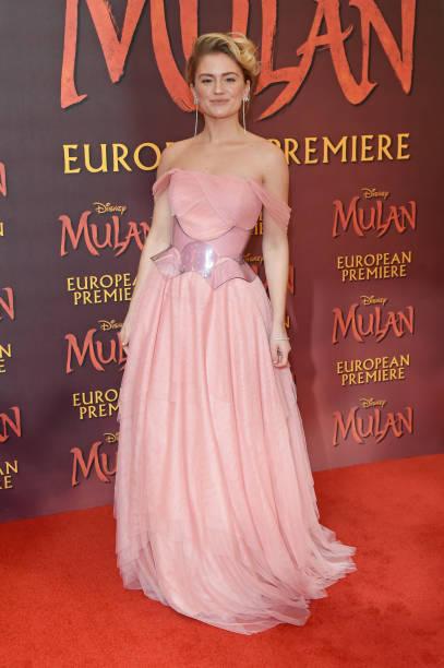 """GBR: """"Mulan"""" European Premiere - VIP Arrivals"""