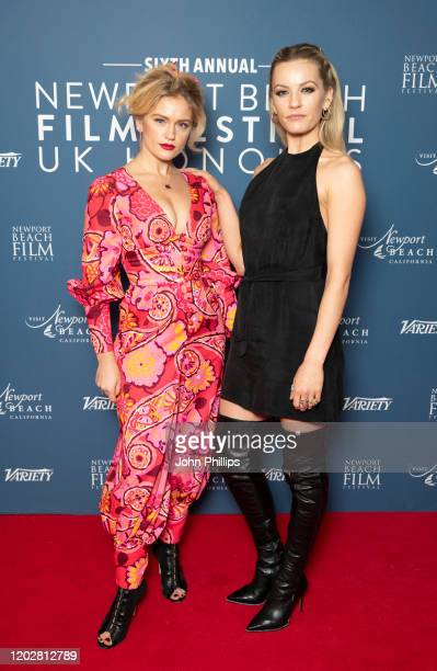 Alicia Agneson attends the Newport Beach Film Festival UK Honours 2020 at The Langham Hotel on January 29 2020 in London England