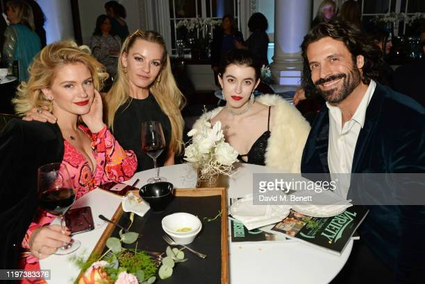 Alicia Agneson guest Chanel Joan Elkayam and Christian Vit attend the Newport Beach Film Festival 6th Annual UK Honours at The Langham Hotel on...