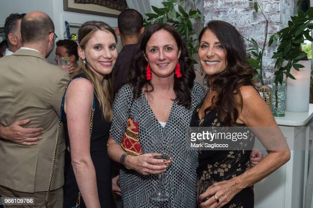 Alicia Angelotti Horvath Liz Lattanzio and Lynn Scotti attend the Hamptons Magazine's 40th Anniversary Season Launch on June 1 2018 in Bridgehampton...