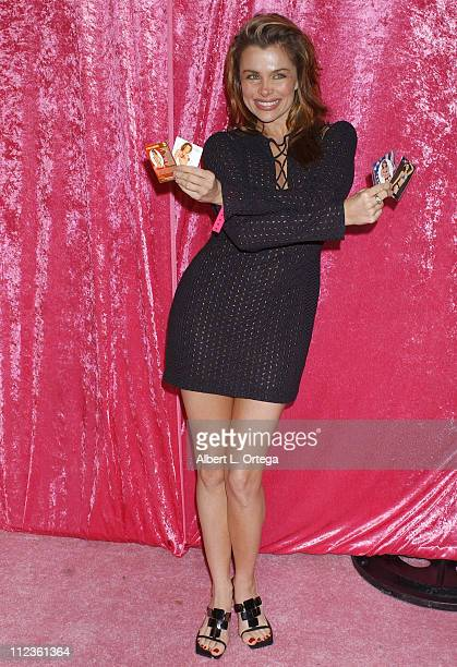Alicia Arden during Bench Warmer Trading Cards Celebrates 2004 Fall Fantasy Series at Bliss in Los Angeles California United States