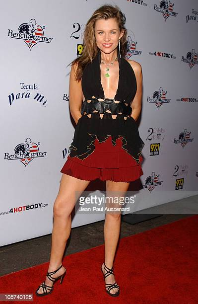 Alicia Arden during Bench Warmer's 2nd Annual 4th of July Celebration Arrivals at Montmartre Lounge in Hollywood California United States
