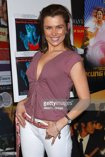 Alicia Arden during Dances With Films Festival 'Survival of the Fittest' Screening at Laemmle Santa Monica in Santa Monica California United States