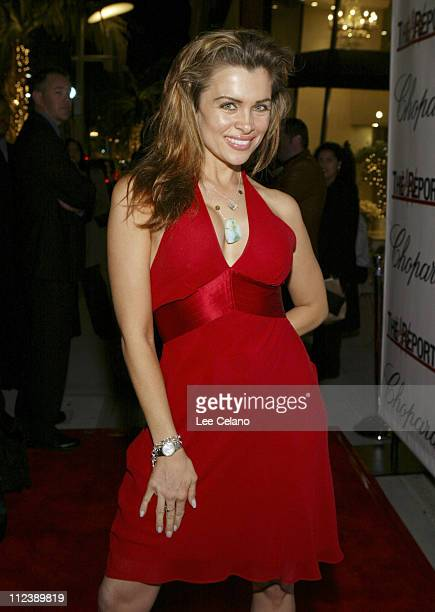 Alicia Arden during Jason Davis Chopard and The Hollywood Reporter Celebrate the Holidays with a Shopping Party to Benefit The Nancy Davis Foundation...